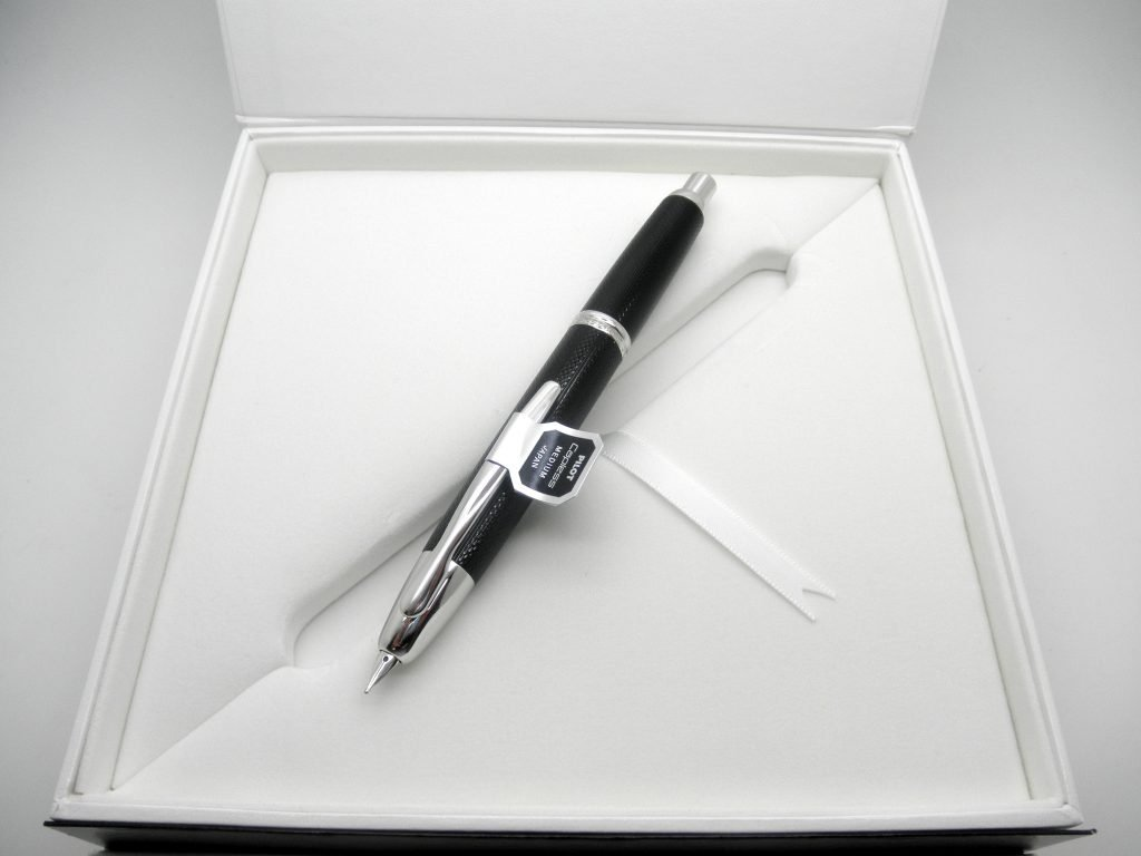 Pilot Vanishing Point Guilloche Fountain Pen