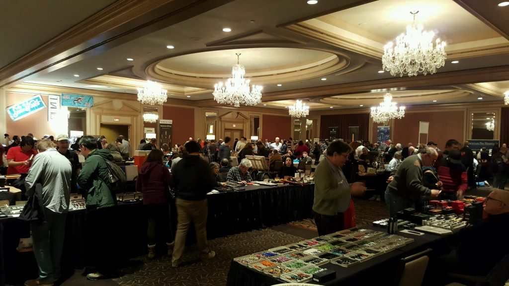 Inside the Philadelphia Pen Show Main Ballroom