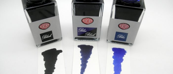 Aurora Blue/Black Fountain Pen Ink