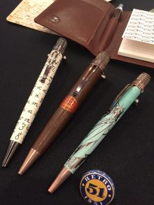 Retro 1951 Ballpoint Pens at the New York National Stationery Show