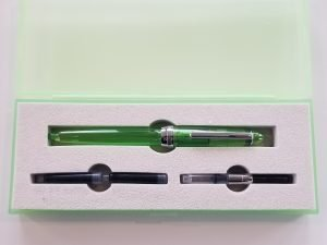 MONTEVERDE MONZA SPECIAL EDITION JOLLY GREEN FOUNTAIN PEN