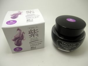 Taccia Murasaki Purple Fountain Pen Ink - Bertram's Inkwell